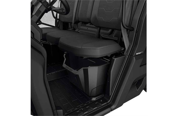 Side X Side Cargo Boxes In Luggage Racks From Can Am