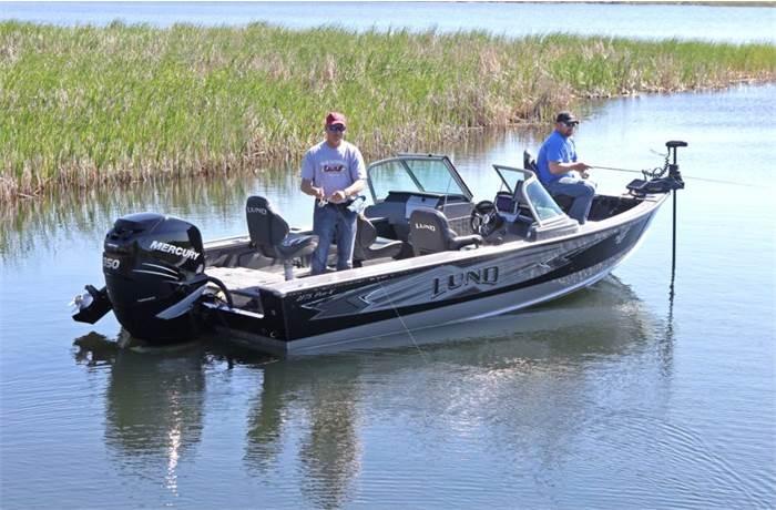 Lund Pro-V Series Boat