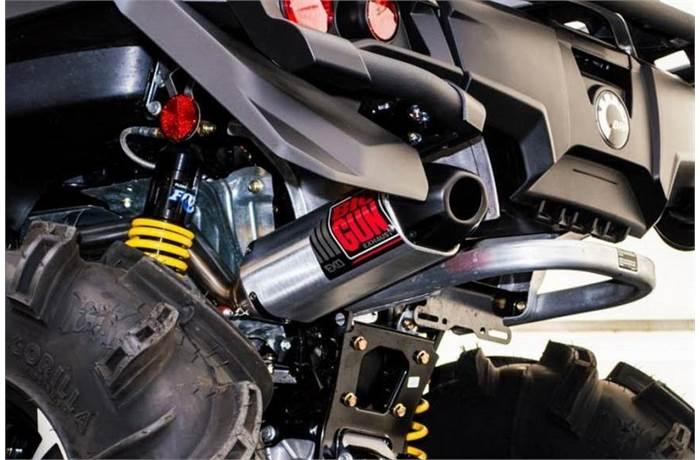 ATV Mufflers in Exhaust from Big Gun