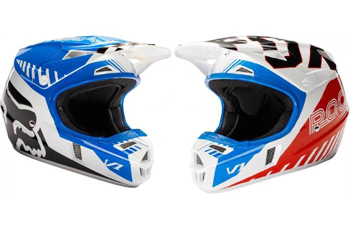 fe898cfcc V1 Fiend Special Edition Youth Helmets. Fox Racing