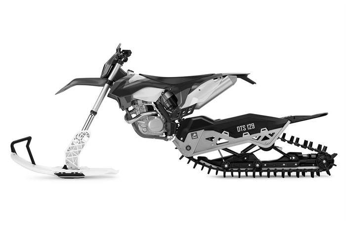 DTS 129 Dirt to Snow Bike Conversion System