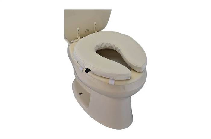 EASY AIR ADJUSTABLE TOILET SEAT RISER. NOVA Medical Products