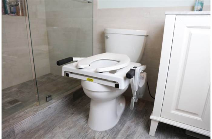 Toilet Safety Frames in Bath