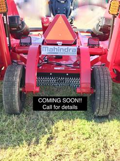 New Mahindra Implements BATWING MOWERS Models For Sale in