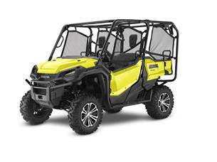 The 2018 Honda Pioneer vs 2018 Yamaha Viking Treadway Honda