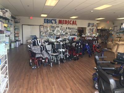 Home Eric's Medical Supply San Diego, CA (619) 298-9640
