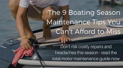 Maintenance Tips Eric's Outboard Marine Service Inc  Miami