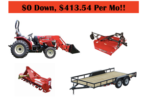 Branson Tractor Package Deals North Georgia Equipment Sales