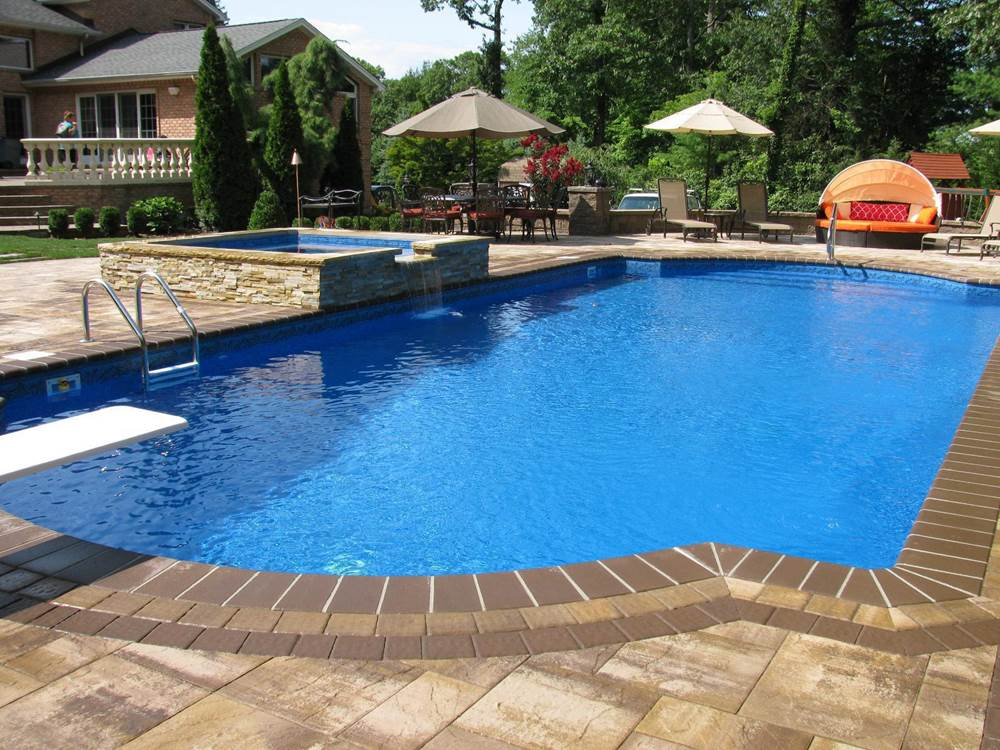 Pools with Spas True Blue Swimming Pools Dix Hills, NY (631) 757-7665