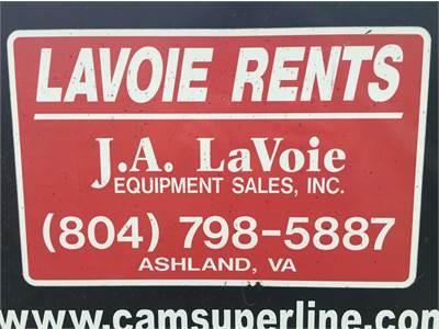 Gallery J A  LaVoie Equipment Sales, Inc  Ashland, VA (804) 798-5887