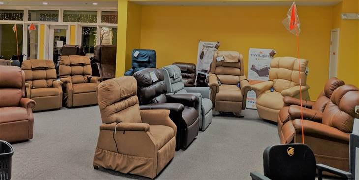Power Recliners with Lift, Heat, and Massage Upward Mobility