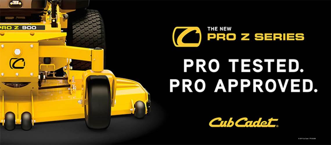 Cub Cadet ProZ Professional Zero Turn Mowers Central Equipment