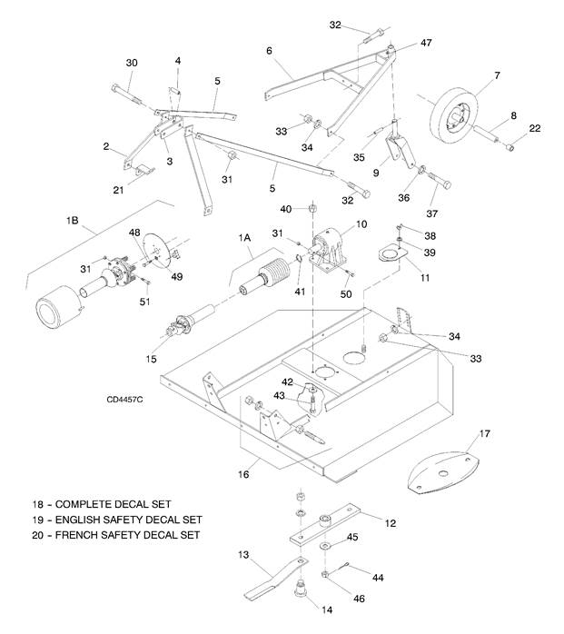 Woods XT160 Single Spindle Main Assembly Central Equipment Lexington