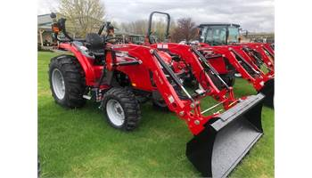 2019 Massey Ferguson 1735 M- 35 hp Tractor Loader Cab for