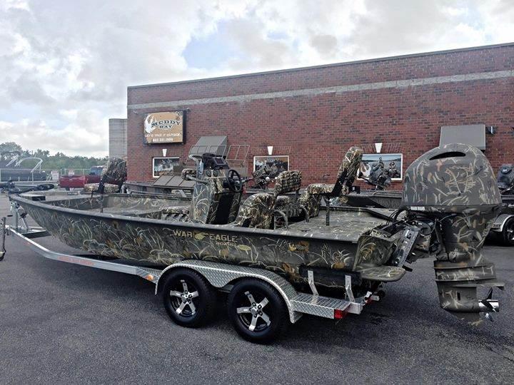 War Eagle Boats For Sale >> Ducks Unlimited Edition War Eagle 2170 Blackhawk Muddy Bay