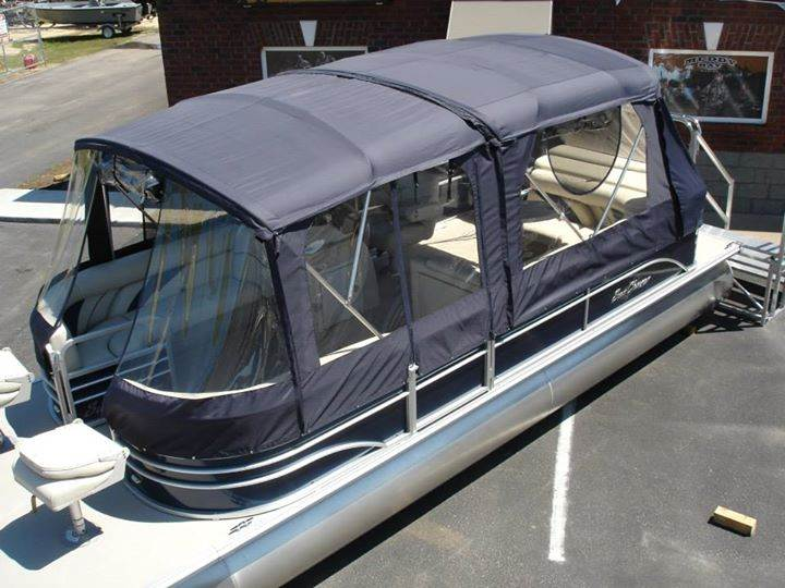 Pontoon Boat Enclosures >> Luxurious Sun Chaser Ds24 Pontoon With Full Enclosure Muddy