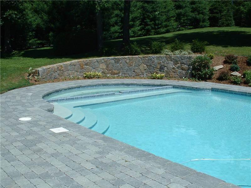 Roman Style Pool With Spa Aqua Pro Inc Ossining Ny 914