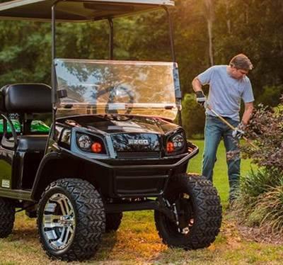 Home Boswell's Golf Cars Nashville, TN (615) 242-0214 on golf cart spare tire mount, golf cart spoiler, golf cart step plate, golf cart fire extinguisher, golf cart tachometer mount, golf cart brush guards, golf cart bug shield, golf cart skid plate, golf cart tie down, golf cart gps mount, golf cart roof rails, golf cart light kit, golf cart dog box, golf cart sun shade, golf cart bed liner, golf cart radio mount, golf cart switch, golf cart repair manual, golf cart scan tool, golf cart muffler,
