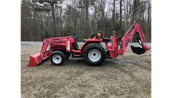 Mahindra 2615 HST Tractor w/ Loader & Backhoe for sale in