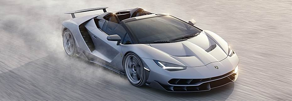 Lamborghini-Centenario-Roadster-gray-in-the-desert-front-view_o