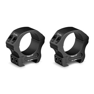 30MM PRO RINGS LOW (SET OF 2)