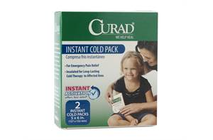 CURAD Instant Cold Packs