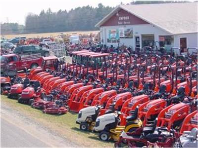 Emerich's New Tractor Displays