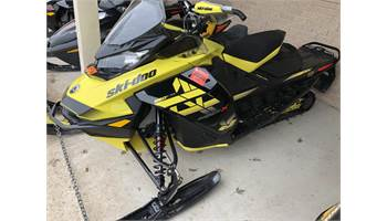 2018 MXZ® X 850 E-TEC® - Sunburst Yellow/Black