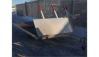 2011 2-PLACE SNOWMOBILE TRAILER