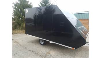"2018 13"" Hybrid Aluminum Enclosed Snow Trailer"