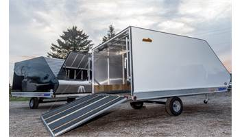 2015 12' Rear Ramp Trailer