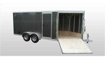 2017 29' V NOSE 2 AXLE TRAILER