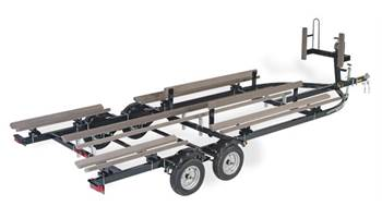 YACHT CLUB 22' 2 AXLE 1 BRAKE BUNK TRAILER