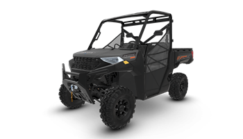 2020 RANGER® 1000 Premium Matte Titanium -  FACTORY CHOICE WINTER PACKAGE