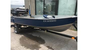 2014 14 MIRROCRAFT FISHING BOAT
