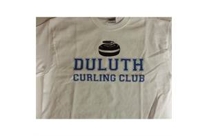 Duluth Curling Club University Style T-Shirt