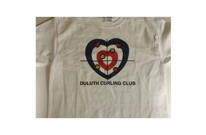Duluth Curling Club Heart T-Shirt