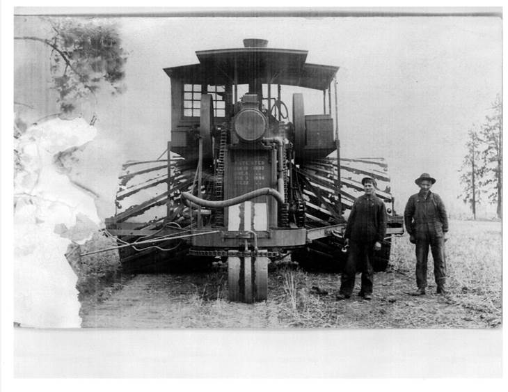 1908 wide trac Traction Engine