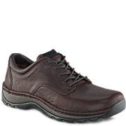 6704 Lace Oxford Safety Toe