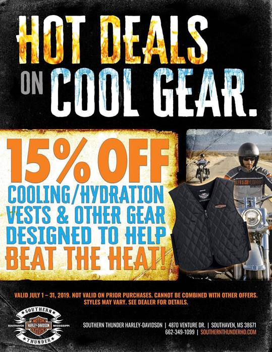 Hot Deals Cool Gear FLYER