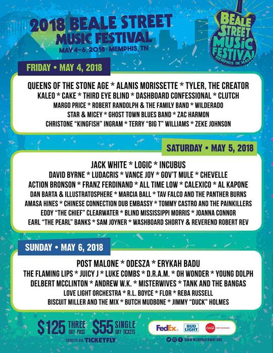 beale-street-music-festival-2018-lineup