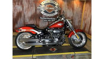 2019 Softail Fat Boy 114