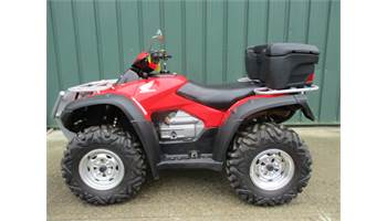2012 HONDA 4X4 RINCON 680 EFI, TIRE & RIM KIT, WINCH, ALUMINUM SKID PLATES, STORAGE BOX VERY CLEAN