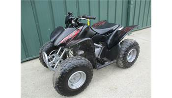 2007 HONDA TRX 90 KIDS QUAD SEMI AUTO WITH ELECTRIC START ALL STOCK.