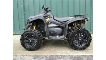 2012 CAN-AM RENEGADE 4X4 1000 XXC, TUSK RIMS & MUZZY TWIN EXHAUST, FULL ALUMINUM SKID PLATES.