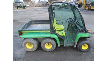 FOR SALE JOHN DEERE TH 6X4 GATOR WITH FULL GLASS CAB
