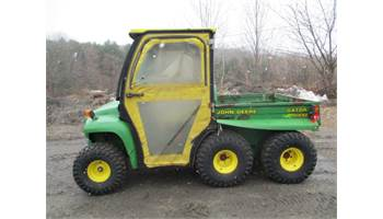 FOR SALE JOHN DEERE GATOR 6X4 DIESEL WITH CURTIS CAB