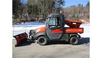 2014 FOR SALE 2014 KUBOTA RTV 1100 4X4 DIESEL WITH PLOW AND SANDER