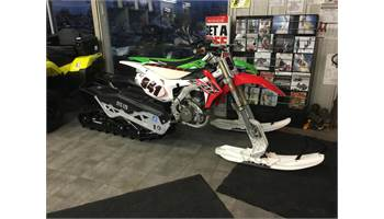2015 CRF450R - NEW SNOWBIKE CONVERSION