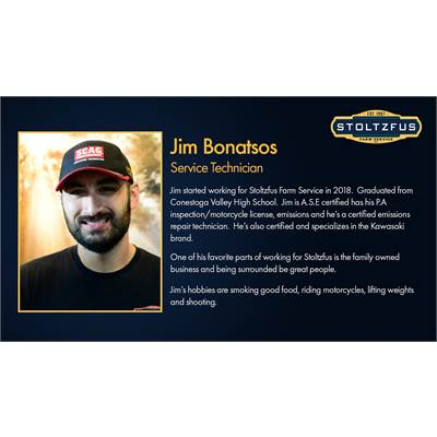 Jim Bonatsos - Technician